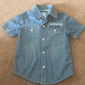 Carter's Button Up Shirt 2t